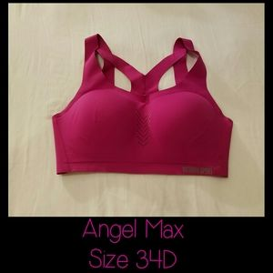 VS Angel Max Sports Bra size 34D